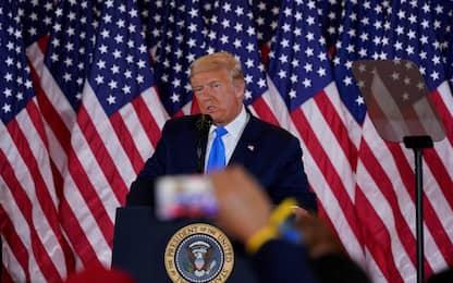 """Elezioni Usa 2020, Trump: """"Vinto ovunque. Andremo alla Corte Suprema"""""""