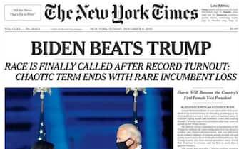 Elezioni Usa Prime Pagine Giornali