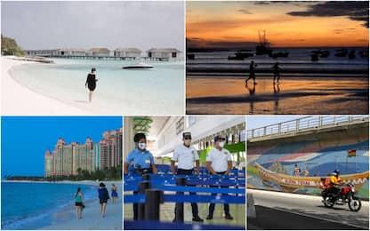 Gli 8 paradisi che accolgono i turisti senza troppe restrizioni Covid