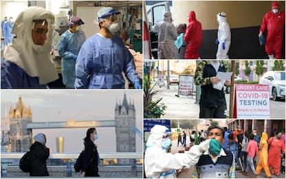 Coronavirus, Paesi con più casi in 24h: Italia dopo Usa, India, Russia