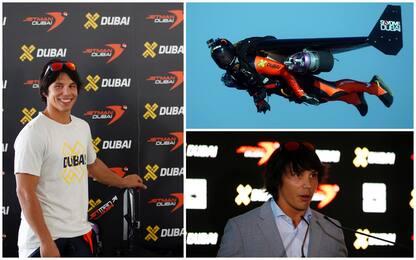 """Dubai: morto Vince Reffet, il """"jetman"""" volante francese"""