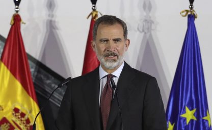 Covid, il Re di Spagna Felipe VI in isolamento preventivo