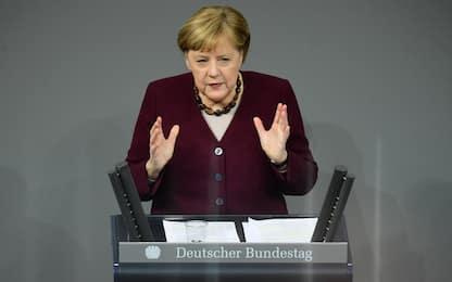 """Covid Germania, Merkel: """"Possibile che ci sia vaccino prima di Natale"""""""