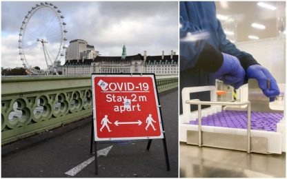 Coronavirus, il Regno Unito approva l'uso del vaccino Pfizer-BioNTech