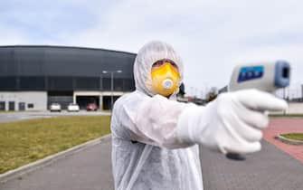 TYCHY, POLAND - MARCH 16: The outbreak of coronavirus affected sporting events across the world. Illustrative photos taken on March 16, 2020 in Tychy, Poland. (Photo by PressFocus)//PRESSFOCUS_20200316PF_LS080/2003170947/Credit:PressFocus/SIPA/2003170951 (Tychy - 2020-03-16, PressFocus/SIPA / IPA) p.s. la foto e' utilizzabile nel rispetto del contesto in cui e' stata scattata, e senza intento diffamatorio del decoro delle persone rappresentate