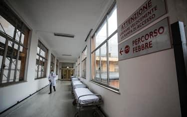 covid ospedale roma ansa