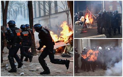 Parigi, scontri alla manifestazione contro la legge sulla sicurezza