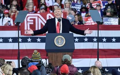"""Usa, Trump in Georgia: """"Dem proveranno a truccare anche i ballottaggi"""""""