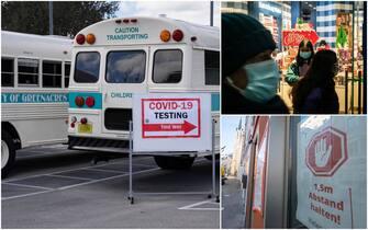 covid mondo contagi vaccini lockdown