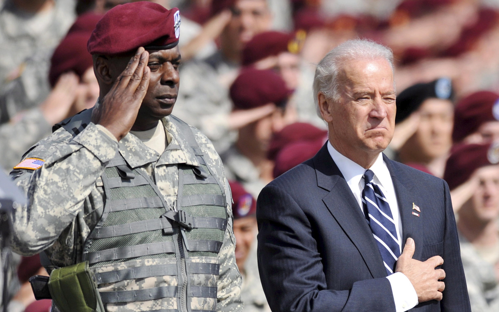 Joe Biden, Lloyd Austin