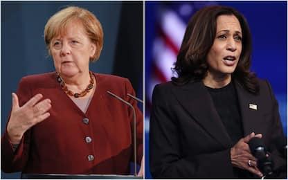 Forbes, classifica donne più potenti: Merkel è prima, Harris già terza