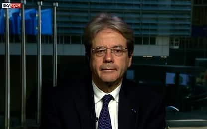 "Gentiloni a Sky TG24: ""Recovery Fund occasione da cogliere"""