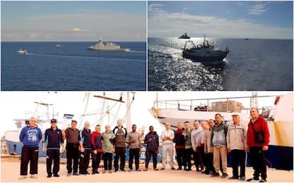 Libia, i due pescherecci verso coste italiane: scortati da nave Marina