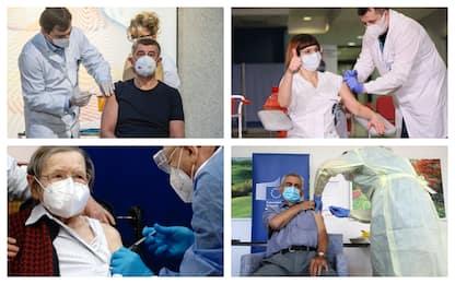 Covid, in Europa iniziata la somministrazione del vaccino. LE FOTO