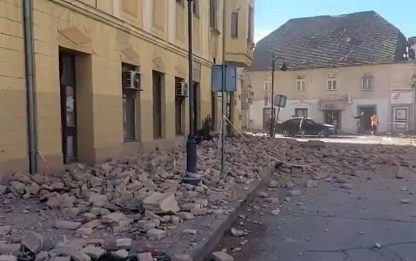 Terremoto in Croazia: a Petrinja due nuove scosse magnitudo 3.7 e 3.3