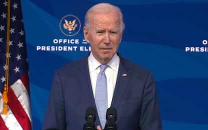 """Usa, Biden sull'irruzione al Campidoglio: """"Minaccia senza precedenti"""""""