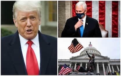 Caos al Congresso Usa, Trump rischia: ipotesi rimozione o impeachment