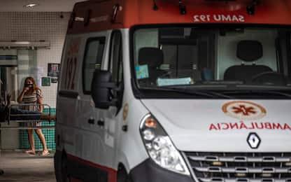 Covid, dramma in Brasile: malati intubati senza sedativi