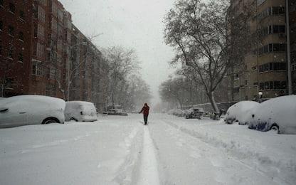 Spagna, tempesta di neve e gelo sul Paese: tre morti. FOTO