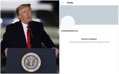 Twitter sospende definitivamente l'account di Donald Trump