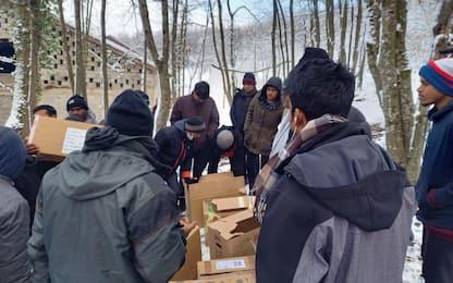 Migranti, a Lipa trovata sistemazione per i profughi