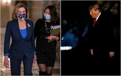 Usa, la Camera approva l'impeachment di Trump
