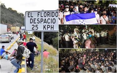Migranti Honduras, Guatemala