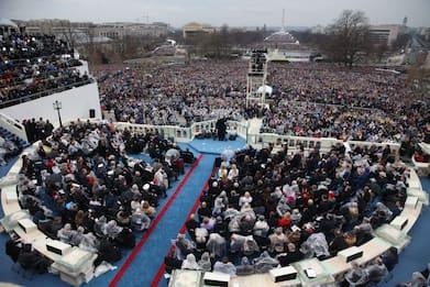 Nessuna folla all'insediamento di Joe Biden il 20 gennaio
