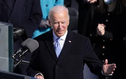 Insediamento Biden, il nuovo presidente giura. Ecco il suo discorso