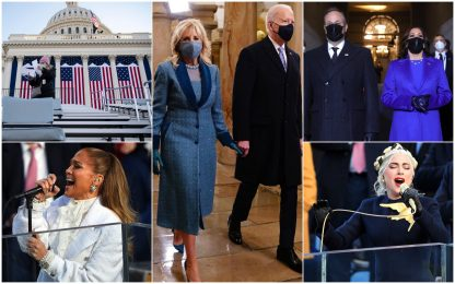 L'insediamento di Joe Biden, 46esimo presidente Usa. IL FOTO RACCONTO