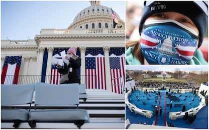 Inauguration Day, tutto pronto per l'insediamento del presidente Biden