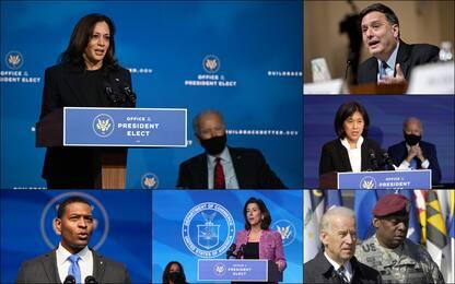 Usa 2021, la squadra dell'amministrazione di Joe Biden: tutti i nomi
