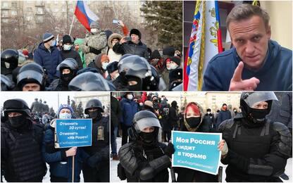 Russia, cortei per Navalny: oltre 2.600 i fermati