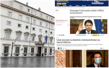 Dimissioni Conte, la notizia su siti internazionali e giornali esteri