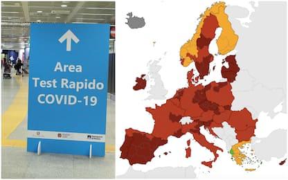 Covid, mappa colori Europa: quali sono le zone rosse e cosa significa
