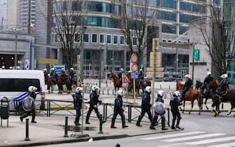 manifestazioni restrizioni covid bruxelles