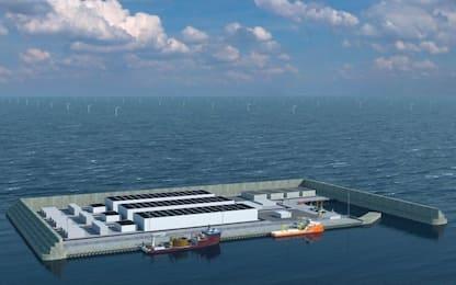 Mare del Nord, Danimarca costruirà isola per produrre energia eolica