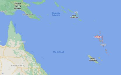 Terremoto nell'Oceano Pacifico, scossa di magnitudo 6.2 a Vanuatu