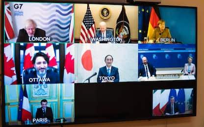 "G7: per Draghi ""salute bene globale, regole vanno condivise"""