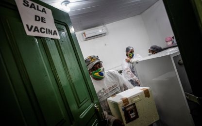 Covid, nella regione dell'America Latina e Caraibi oltre 40 mln casi
