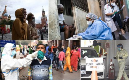 Coronavirus, 10 Paesi con più casi in 24h: primi Usa, Italia ottava