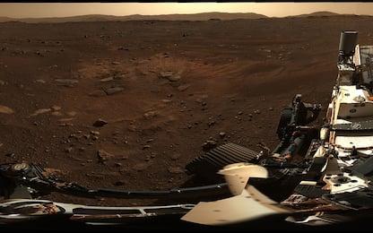 Marte, la foto panoramica scattata da Perseverance sul Pianeta Rosso
