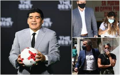 Maradona, inchiesta omicidio colposo: le figlie ascoltate in Procura