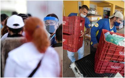 Coronavirus, i 10 Paesi con più casi in 24 ore: Usa e Brasile in testa