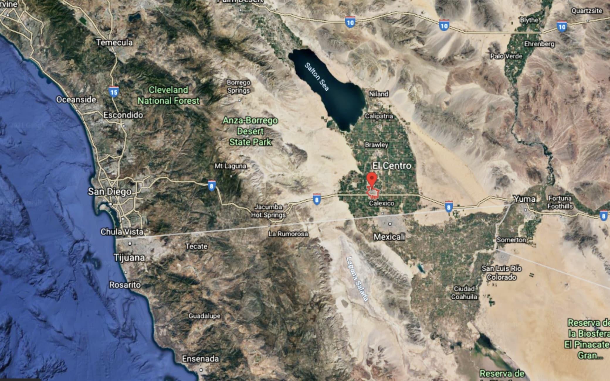 el centro california