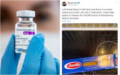 """Italia blocca i vaccini, """"vendetta pacifica"""" dell'Australia su Twitter"""