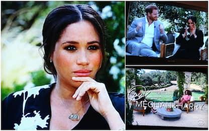 """Meghan in tv: """"Alla Casa Reale preoccupati da colore pelle di Archie"""""""