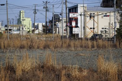 Fukushima oggi, foto della città e della centrale nucleare a 10 anni
