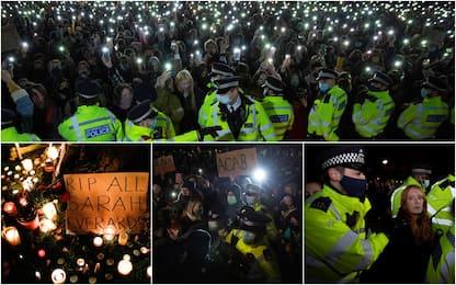 Londra: veglia per ricordare Sarah Everard, tensioni con polizia. FOTO