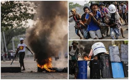 Birmania, proseguono gli scontri: ieri almeno 59 morti a Yangon